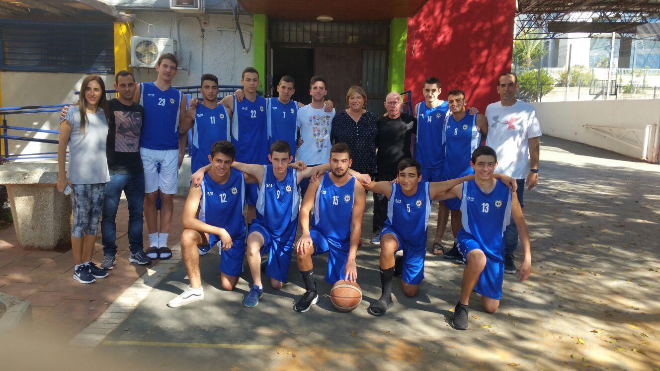גלריית נבחרת כדורסל
